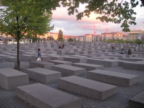 Memorial to the Murdered Jews in Europe.