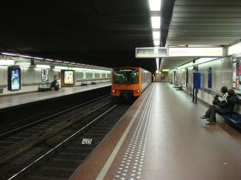 Brussels Metro (Image: Wikipedia).