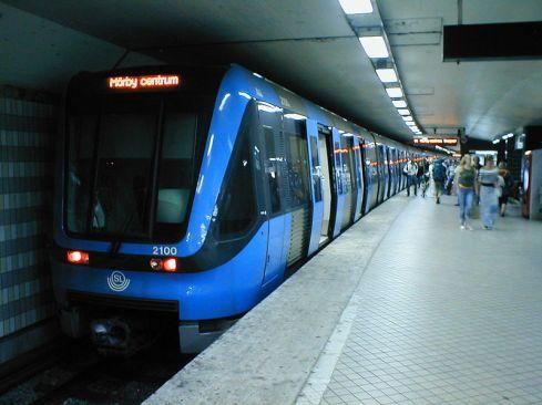 Stockholm Metro (Image: Wikipedia).