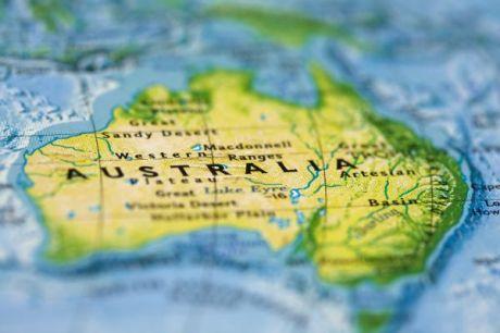 Img 1 - Australia Map focus
